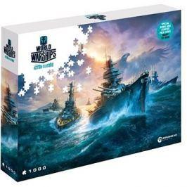 World of Warships puzzle - Německé bitevní lodě