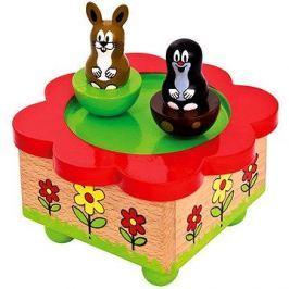 Bino Hrací skříňka - Krteček