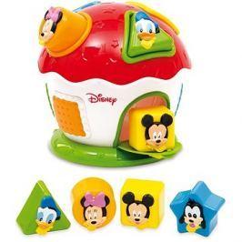 Clementoni Mickey Domeček s prostrkávadlem