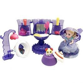 Cupcake sada Zmrzlinový pohár fialový