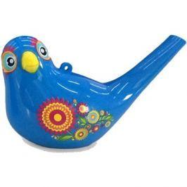 Zpívající vodní ptáček Aqua Bird II modrý