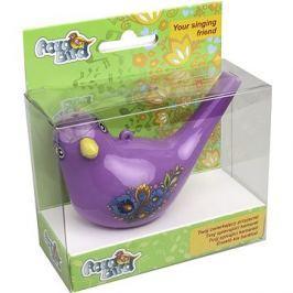 Zpívající vodní ptáček Aqua Bird III fialový