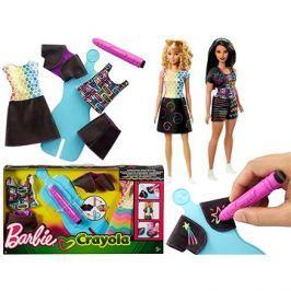 Barbie D.I.Y. Crayola magický vzor Modrá
