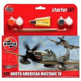 AirFix Starter Set A55107 letadlo – North American Mustang IV