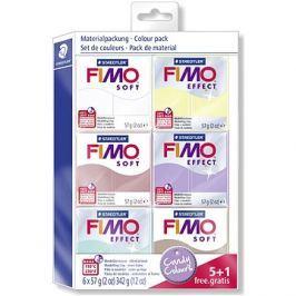 Fimo Soft sada 5+1 Sladké barvy