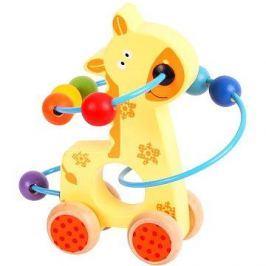 Motorický labyrint na kolečkách - Žirafa - 691621490693