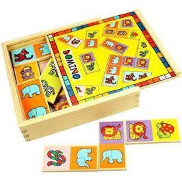 Dřevěné domino - Zvířátka