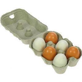 Dřevěné potraviny - Dřevěné vajíčka v krabičce