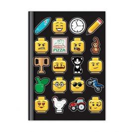 LEGO Iconic Deník - černý