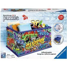 Ravensburger 3D 121113 Úložná krabice Graffiti