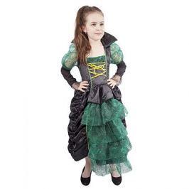 Čarodějnice zelená s kloboukem vel. S