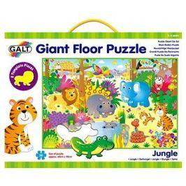 GALT Velké podlahové puzzle – zvířátka vdžungli Vkládací
