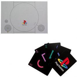 PlayStation - hrací karty se symboly PS