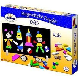 Detoa Magnetické puzzle Děti Puzzle