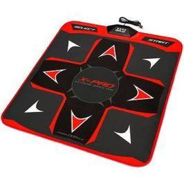X-PAD Extreme Dance Pad PlayDance Edition - červená Digitální hry