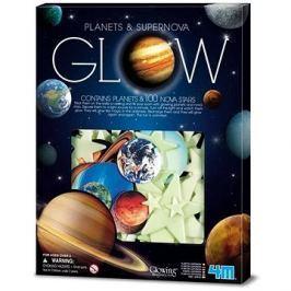 Svítící planety, 100 ks
