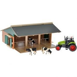 Farma s traktorem