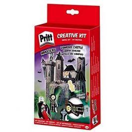 PRITT Crafting kits Loď duchů,Zámek upírů,Dračí kopec,Fantómův vůz/