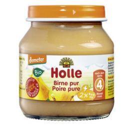 6 x Holle Bio Přesnídávka Hruška, 125g
