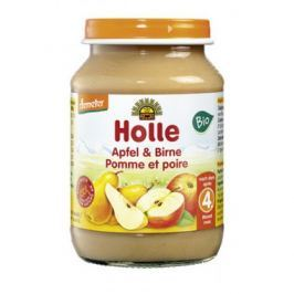 6 x Holle Bio Pyré Jablko a Hruška, 190g
