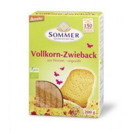 6 x Sommer&Co Bio Chlebové suchary celozrnné, 200g