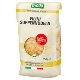 12 x Byodo Bio Filini nudle z tvrdé pšenice, 250g
