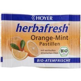 12 x Hoyer Bio Mentolky pomerančové, 17g