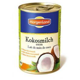 6 x Morgenland Bio Kokosové mléko, 400ml