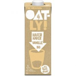 6 x Oatly Bio Ovesný nápoj vanilkový, 1l