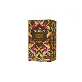 4 x Pukka Bio Kakaový čaj s lékořicí, 20 pytlíků