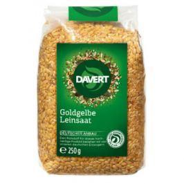 8 x Davert Bio Lněné semínko zlatožluté, 250g
