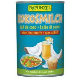 6 x Rapunzel Bio Kokosové mléko, 0,4l