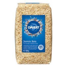 8 x Davert Bio Jasmínová rýže neloupaná, 500g