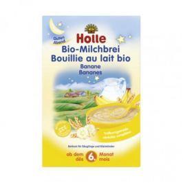 6 x Holle Bio Mléčná kaše banánová, 250g
