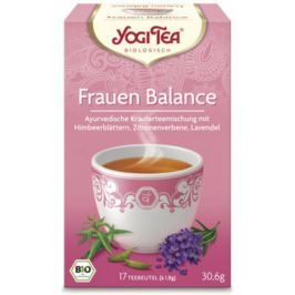 6 x Yogi Bio Čaj Ženská rovnováha, 17 pytlíků