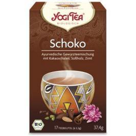 6 x Yogi Bio Čokoládový čaj, 17 pytlíků