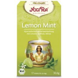 6 x Yogi Bio Lékořicový čaj s mátou, 17 pytlíků