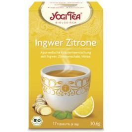 6 x Yogi Bio Zázvorový čaj s citrónem, 17 pytlíků