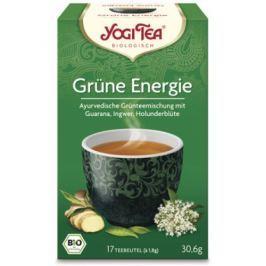 6 x Yogi Bio Zelený čaj Energie, 17 pytlíků