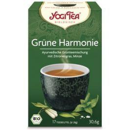 6 x Yogi Bio Zelený čaj Harmonie, 17 pytlíků