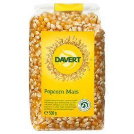 8 x Davert Bio Kukuřičný popkorn, 500g