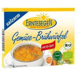 15 x Erntesegen Bio Zeleninový bujón méně soli, 6x11g