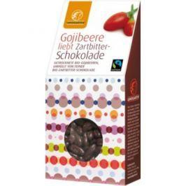 6 x Landgarten Bio Čokoládové kousky s Goji, 90g