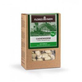 6 x FloresFarm Bio Kešu ořechy celé, 100g