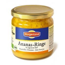 6 x Morgenland Bio Ananas- kroužky, 388ml