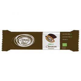 15 x SimplyRaw Bio Mandlová tyčinka čokoládová, 40g