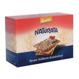 12 x Naturata Bio Celozrnný Knäckerbrot se sezamem, 250g