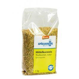 6 x Spielberger Bio Středozrnná rýže neloupaná, 1kg