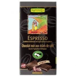 12 x Rapunzel Bio Hořká čokoláda Espresso, 100g