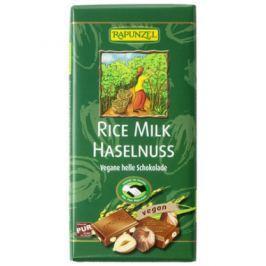 12 x Rapunzel Bio Rýžová čokoláda s oříšky, 100g